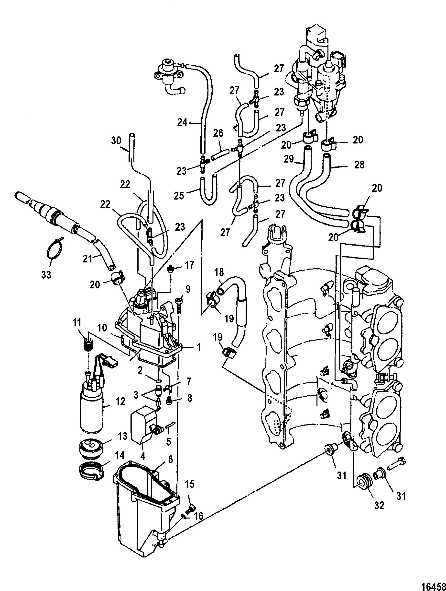 Mercury Mercury 115 Efi 4 Stroke 1b Thru 1b Fuel Injection Pump
