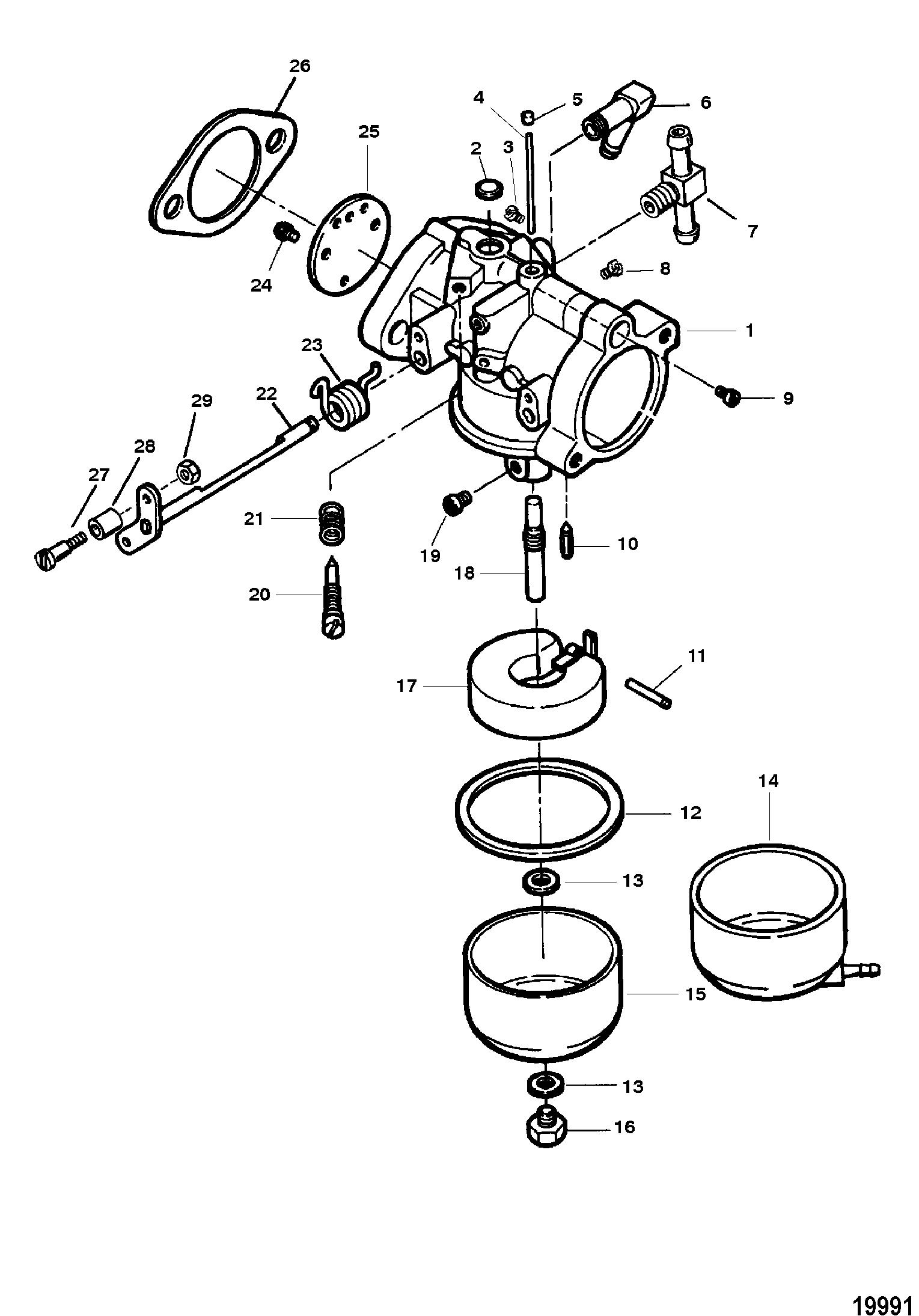 Mercury Outboard Motor