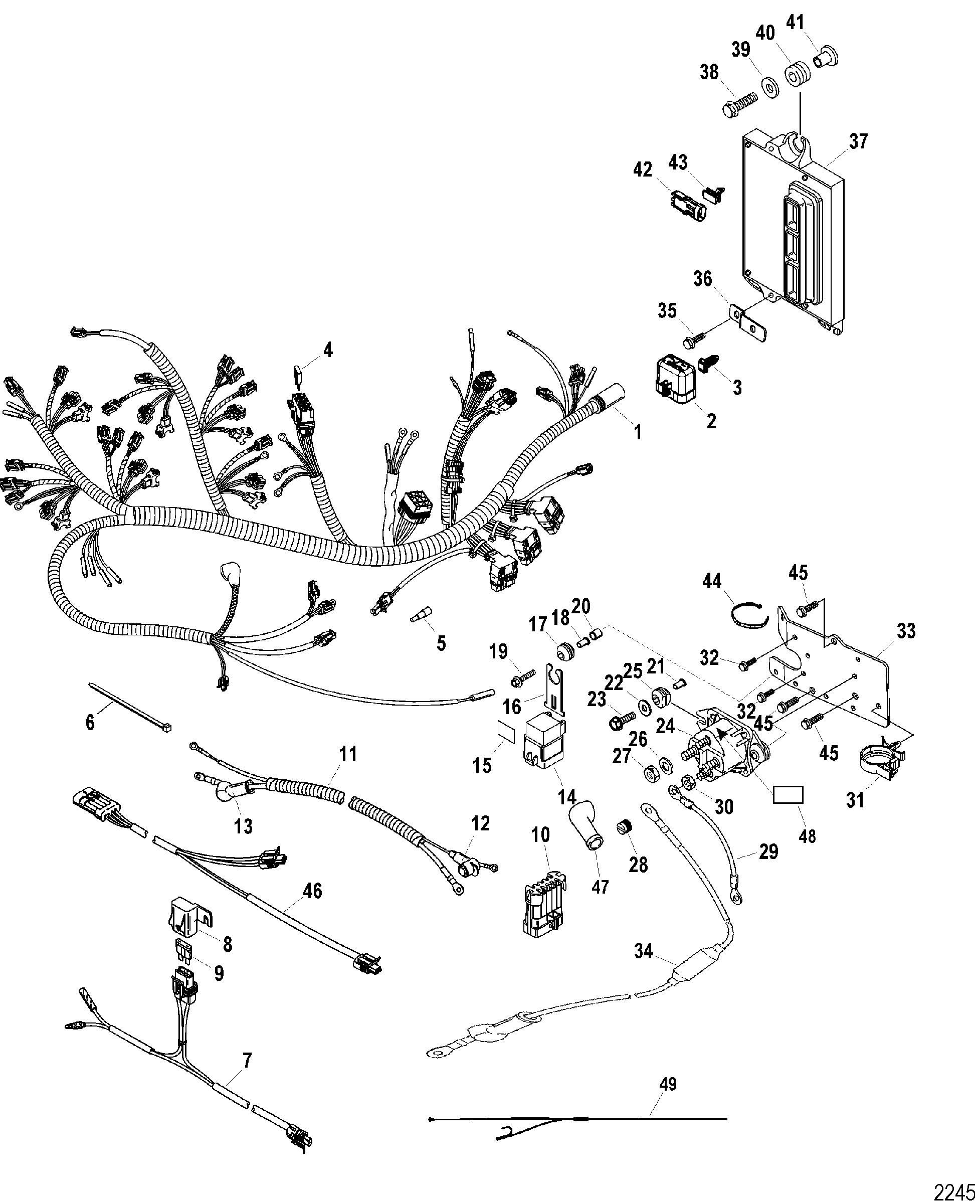 Sae J Marine Wiring Diagram