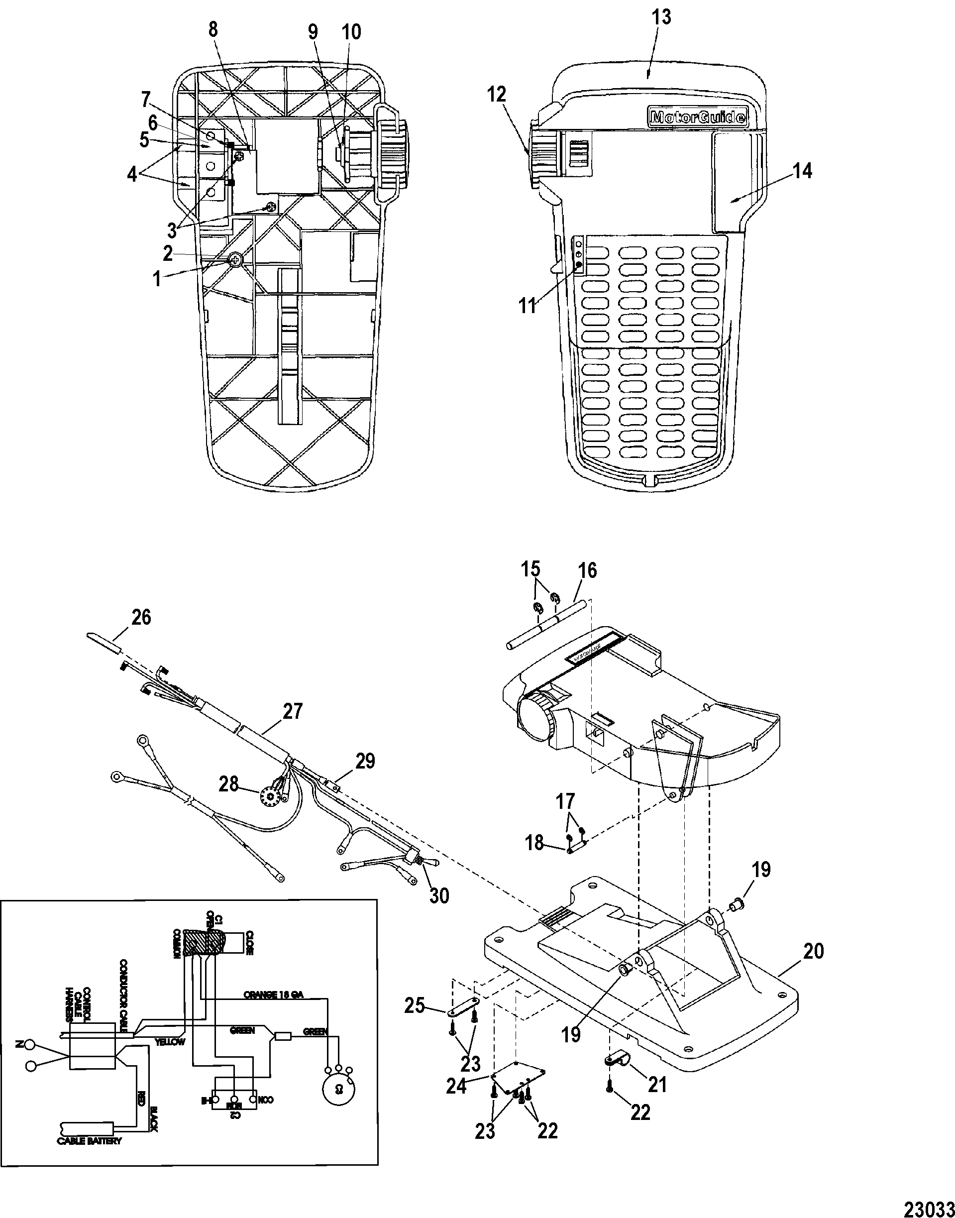 12 Volt Cable Motor