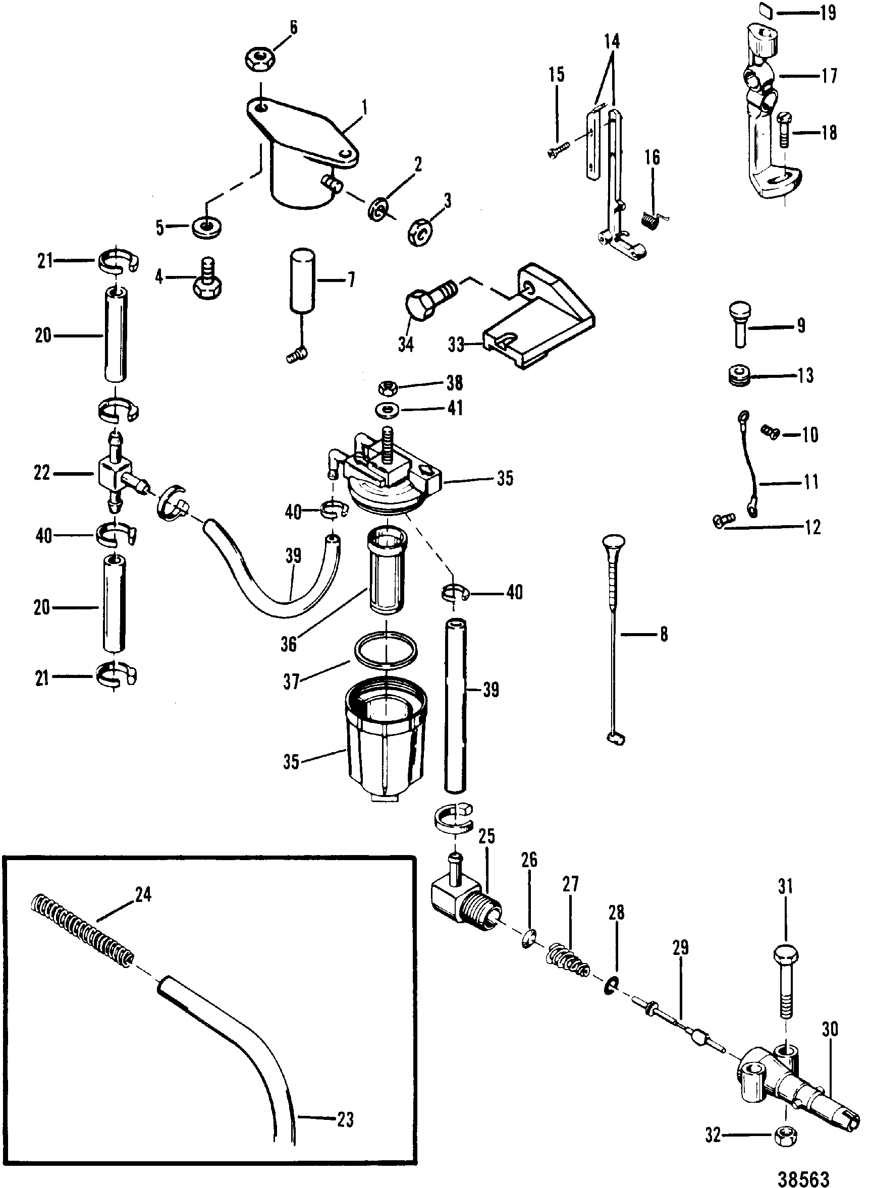 50 Horsepower Mercury Outboard Diagram