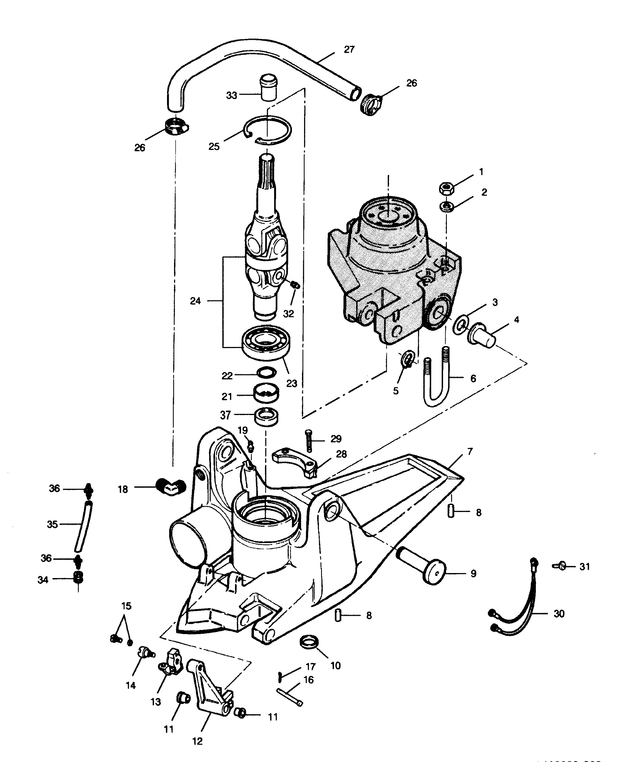 Mercury Outboard Motor Parts Diagram