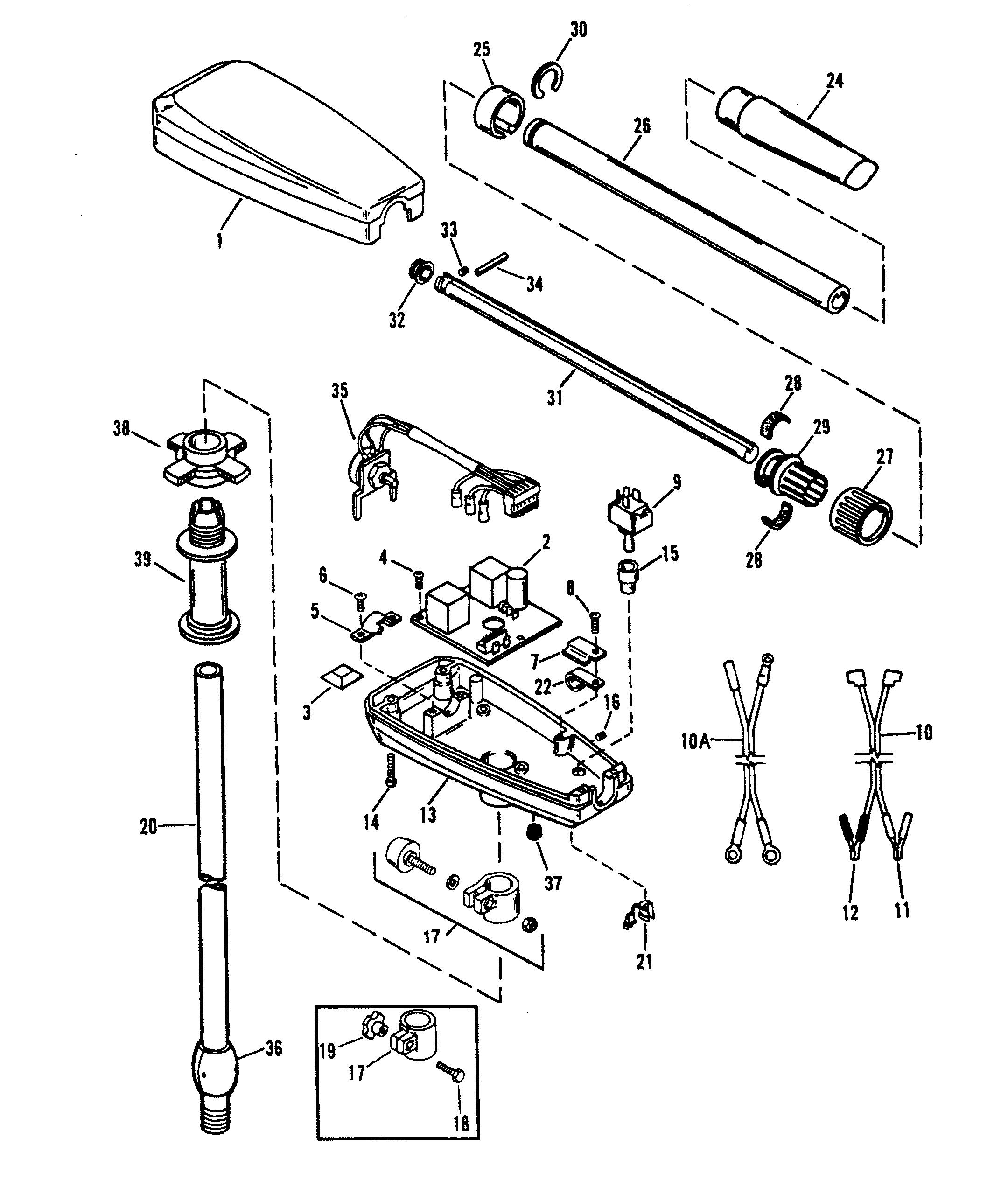 Mercury Thruster Trolling Repair Manual