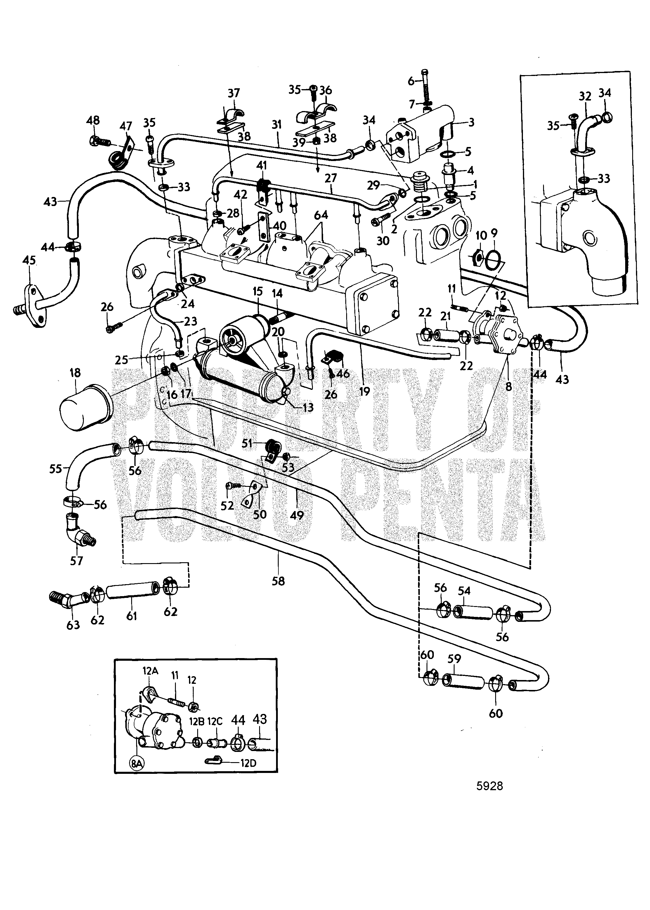 Volvo Marinesel Engine Diagram Volvo Auto Wiring Diagram