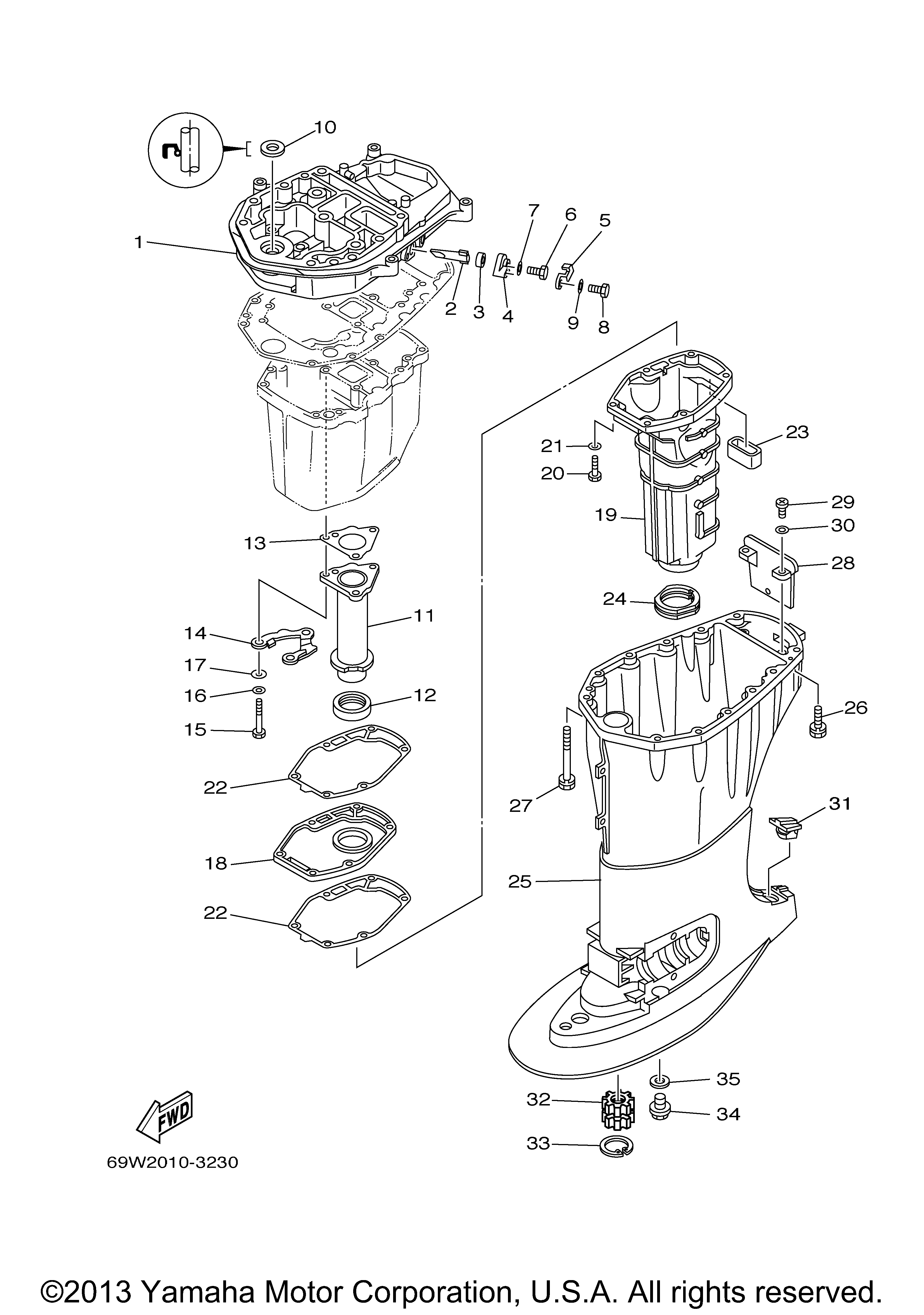 Yamaha Outboard Motor Parts Usa