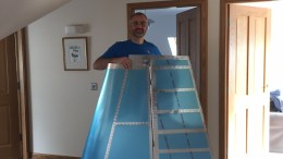 Me with RV14 fin and rudder