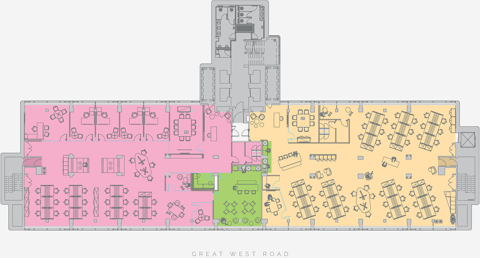Typical Split Space PLan