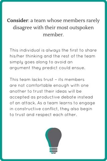 Conflict & Teams example 2