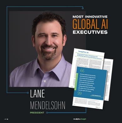 Lane Mendelsohn Named Most Innovative Global AI Exec