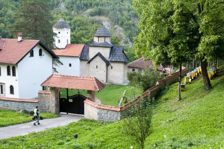 Klášter v Srbsku