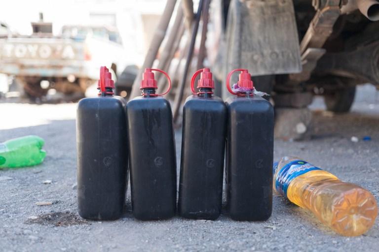 Íránské zásoby paliva