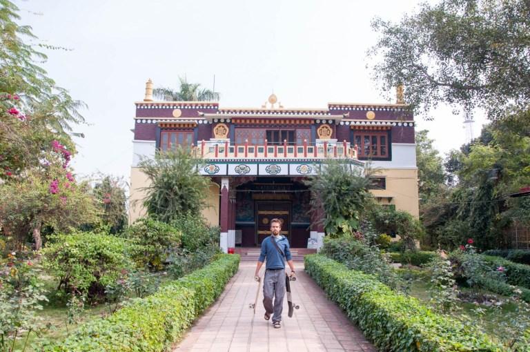 U nepálského chrámu