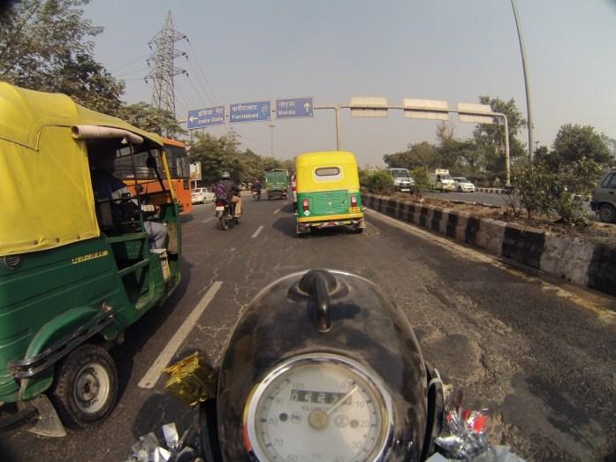 Na výpadovce z Nového Dillí