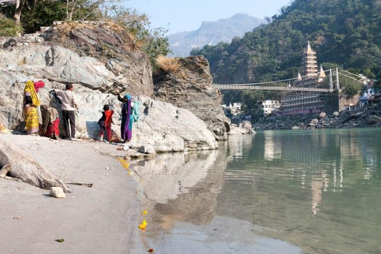 Ganga v Rišikéši