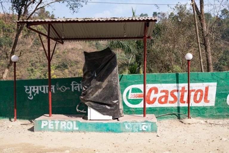 Další z benzínek, které nám nic nenačepují.