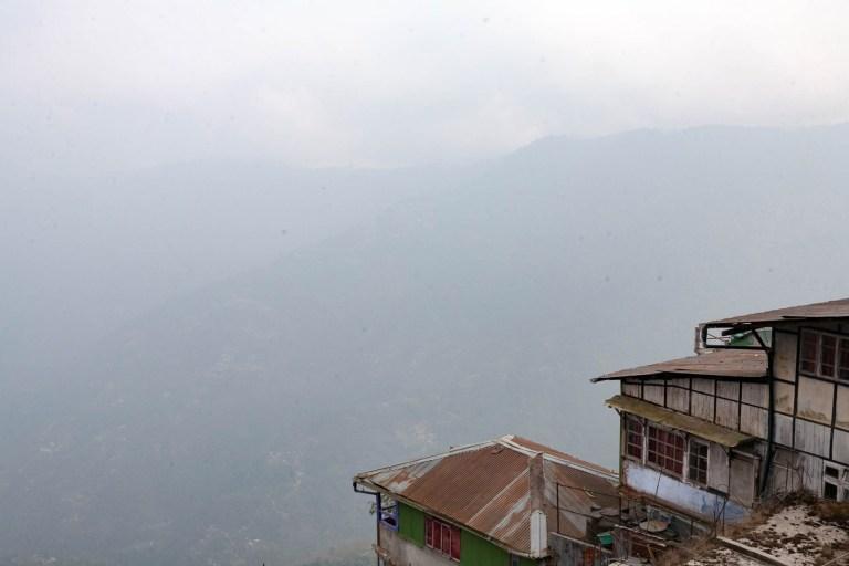 Výhled z Darjeelingu