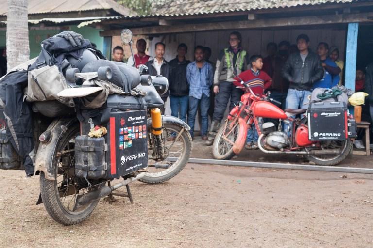 Svařovací obchůdek v Indii