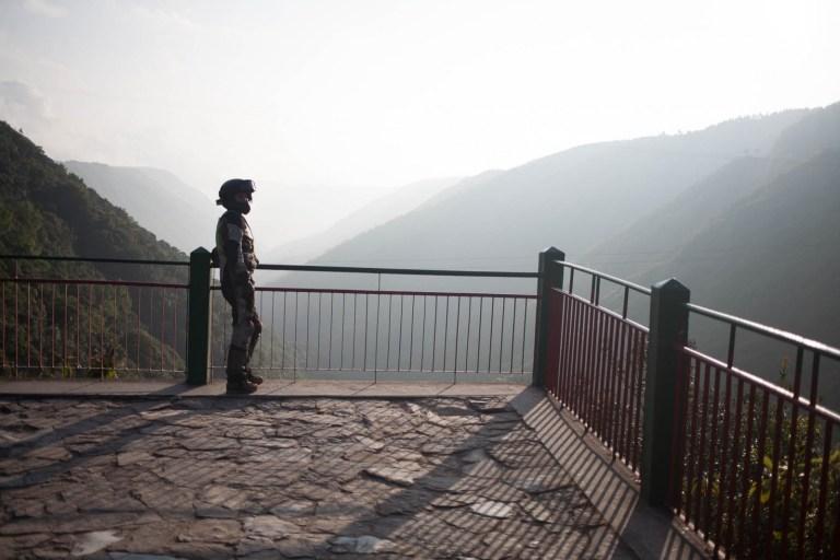 Vyhlídka na Cherrapunji