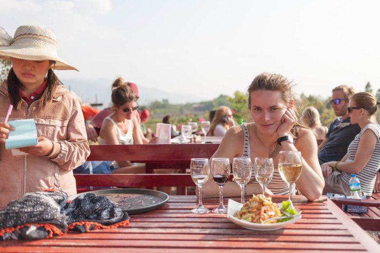 Vinárna v Barmě
