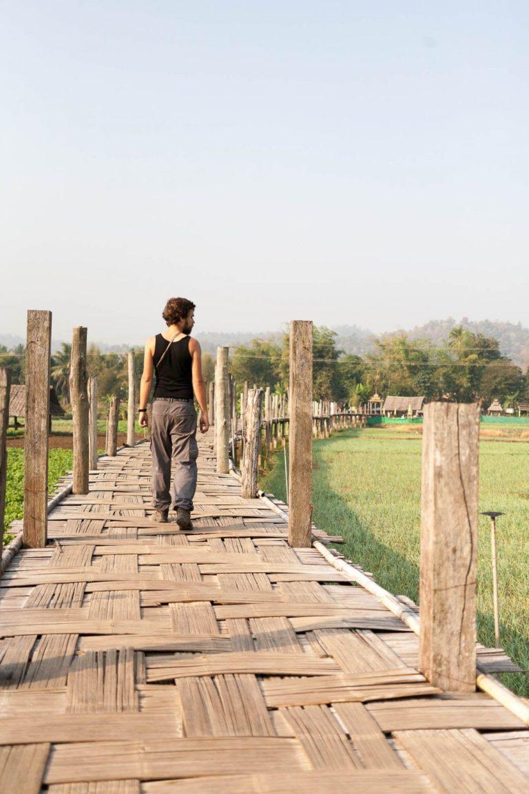 Marek na bambusovém mostě