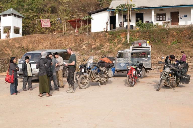 Punková skupina na hranici Barmy