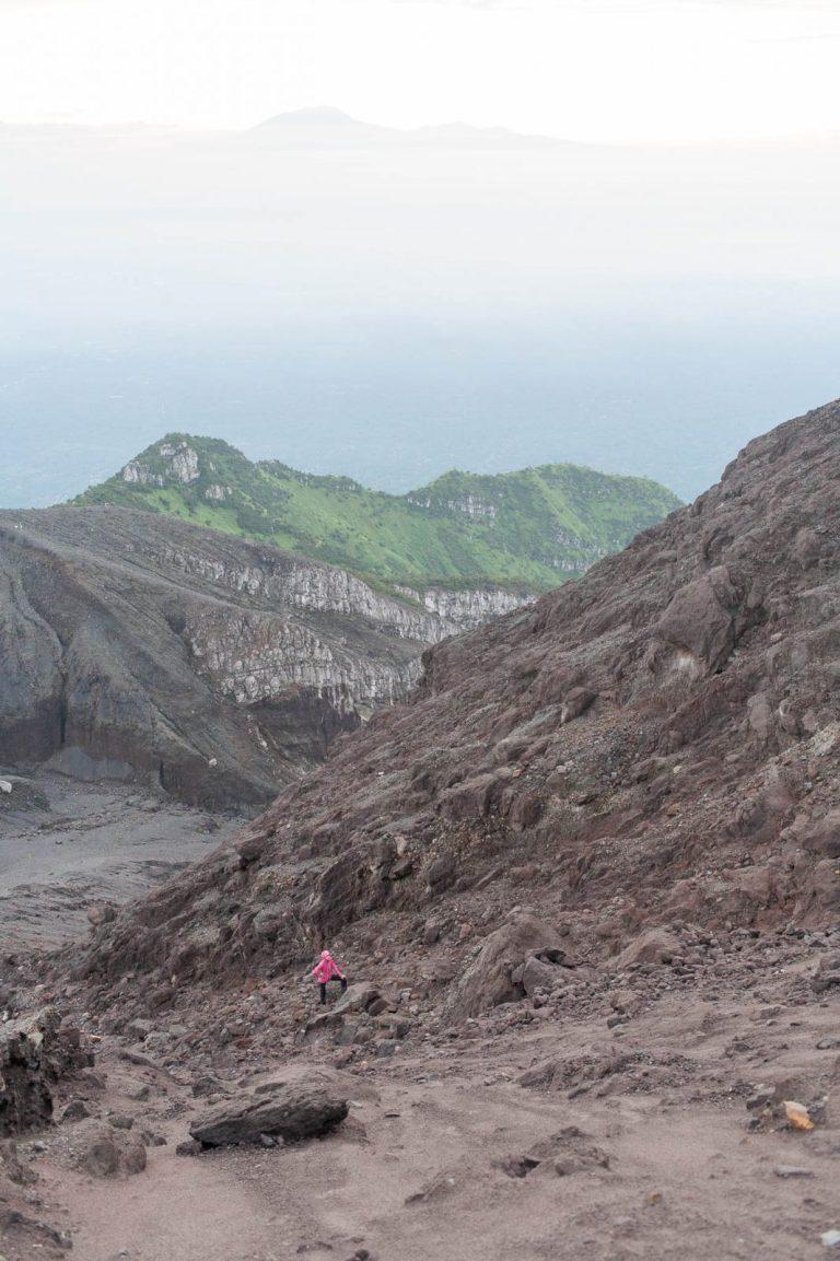 Výstup na Merapi