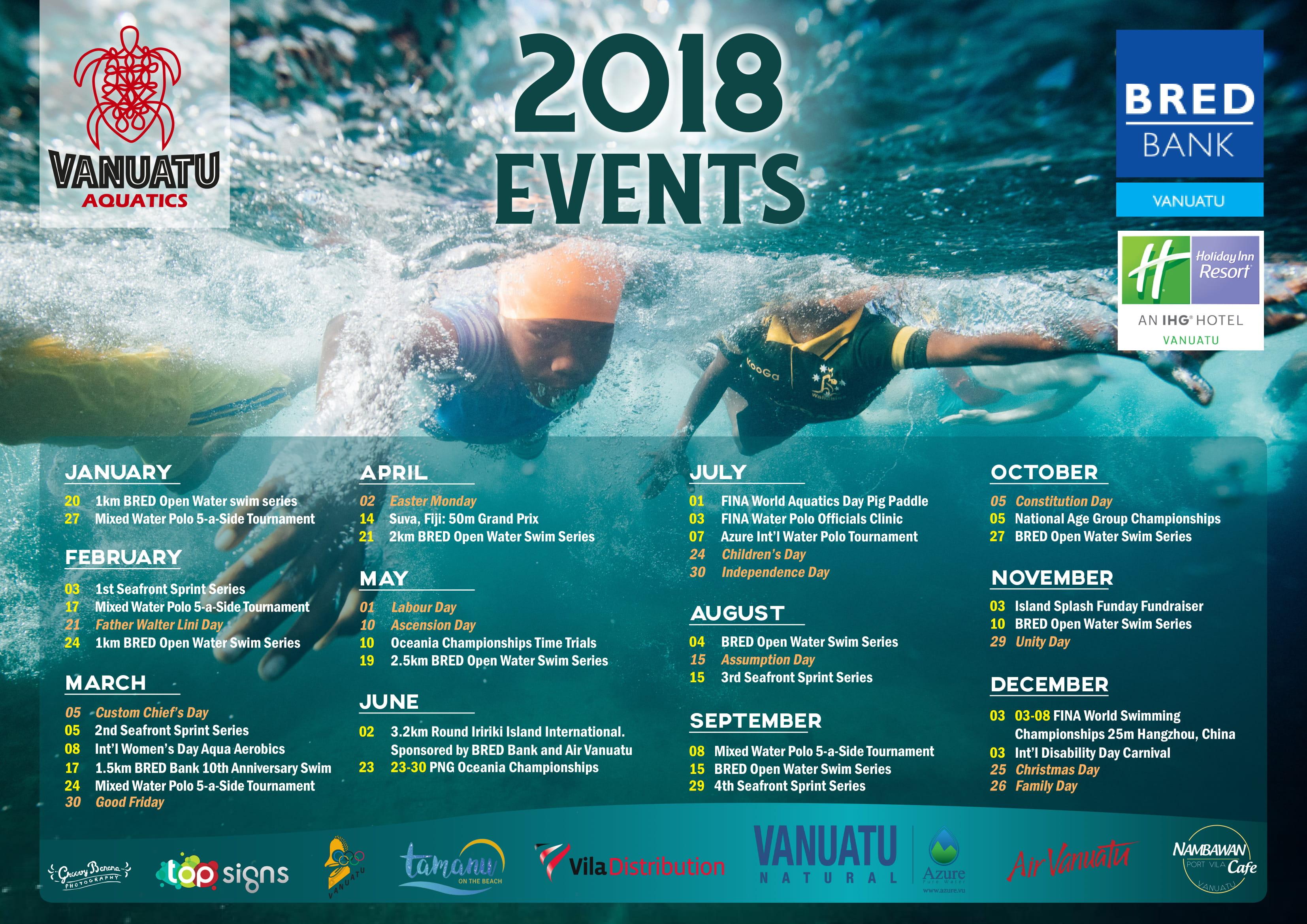 Vanuatu Aquatics Federation – Supporting the Sport of