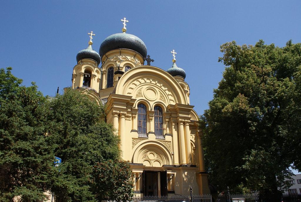 Eglise Orthodoxe Sainte Marie Madeleine Varsovie Praga