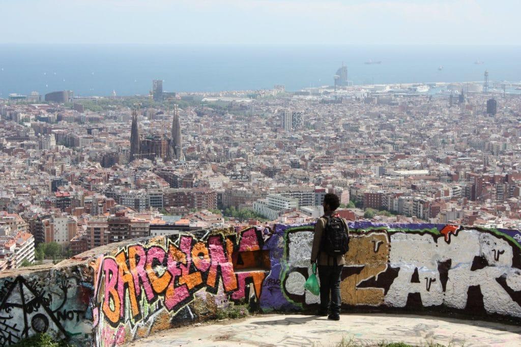 Superbe Parc Du Guinardo Barcelone Horta Vanupied