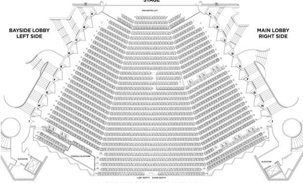 van wezel seating chart | Brokeasshome.com