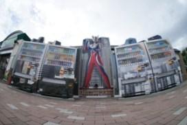 超人主題 自動販賣機
