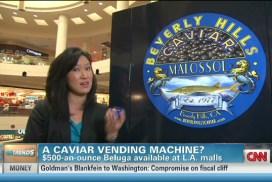 Caviar Vending Machine