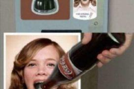 牙膏促銷 自動販賣機