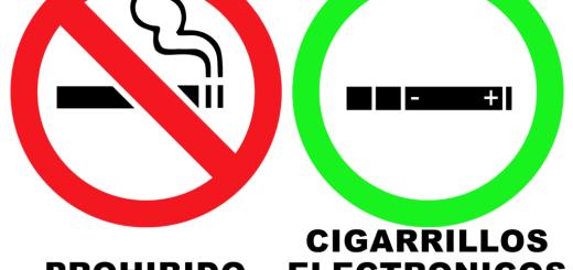 Prohibido Fumar, Cigarrillos Electrónicos Permitidos