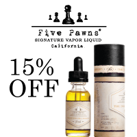 Five Pawns - Signature vapor liquid.