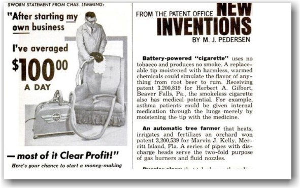 Smokeless Non-Tobacco Cigarette en Popular Mechanics
