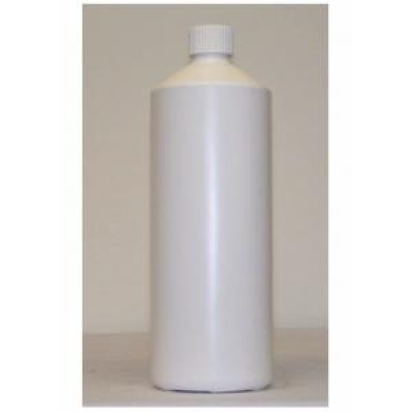 1 litre – Empty bottle with child proof lid (White)
