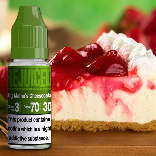 Big Mama's Cheesecake -10ml E-Liquid – £1.25 at REJUICED