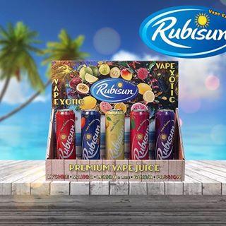 Rubisun 60ml Shortfill (with nic shot) – £11.50 at Vape Potions