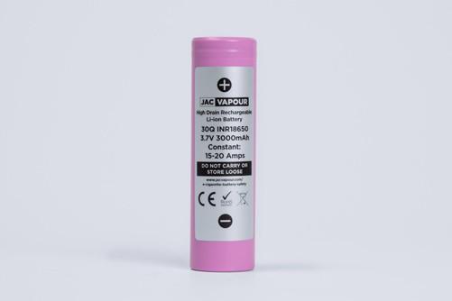 LG 30Q 20A 3000MaH 18650 Battery – £3.53 at JAC