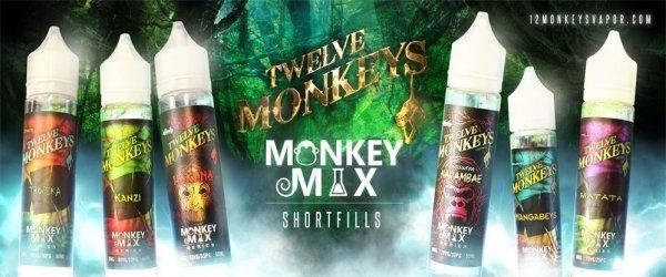 Twelve Monkeys 60ml Shortfill – £13.78 at Vape Potions
