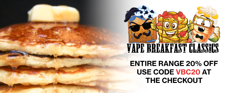 Vape Breakfast Classics – 20% off at Gourmet eLiquid