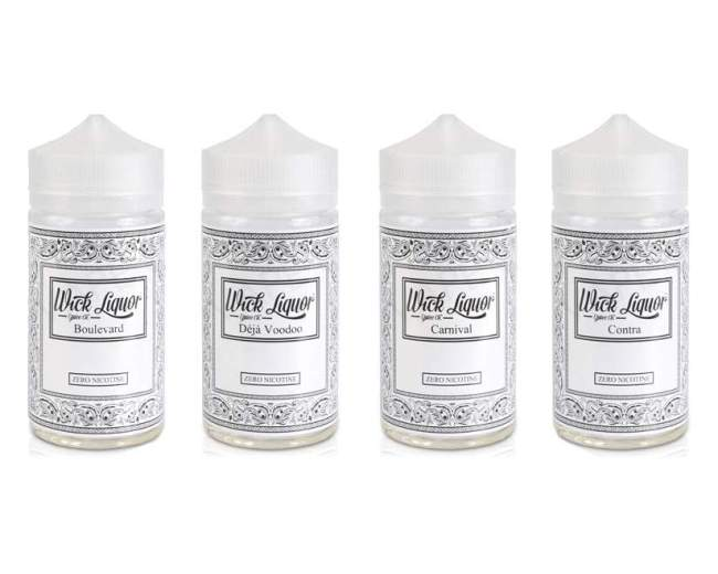180ml Shortfill Wick Liquor Juggernaut (+ 3x Nic Shots) – £25.95