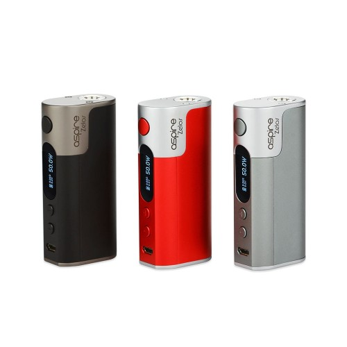 Aspire Zelos 50W box Mod – Only £27.99 At TECC!