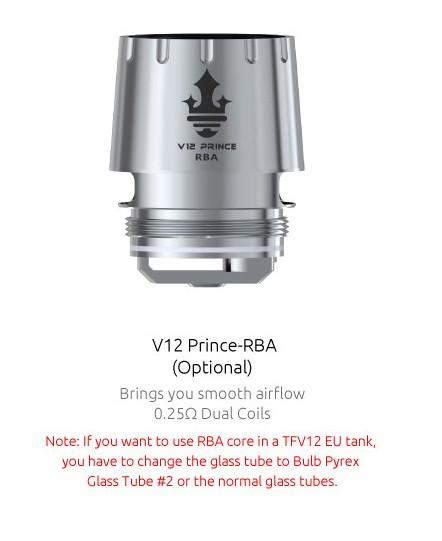 Smok TFV12 Prince RBA – £8.99