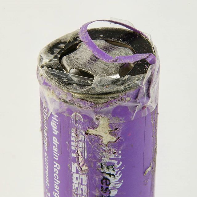 Damaged Battery