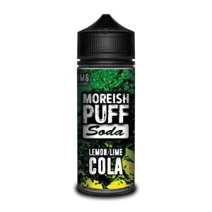Moreish Puff Soda Lemon/Lime Cola