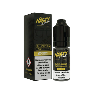 Nasty Juice Nic Salt Gold Blend Tobacco