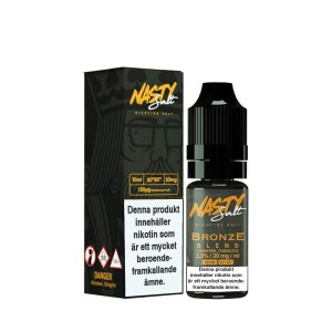 Nasty Juice Nic Salt Bronze Blend Tobacco