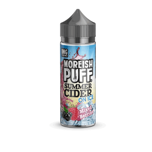 Moreish Puff Summer Cider on Ice Mixed Berries